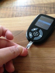 monitoring blood glucose levels