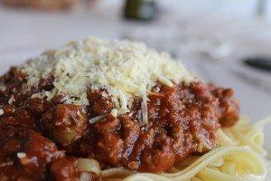 spaghetti bol
