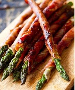 party food asparagus