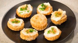 party food cheese scones