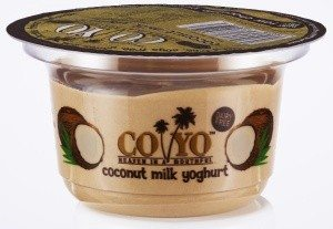 COYO raw chocolate coconut milk yoghurt