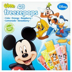 calypso sugar free ice pops