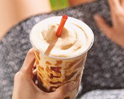 Costa Caramel Latte Cooler, 61g total carbs