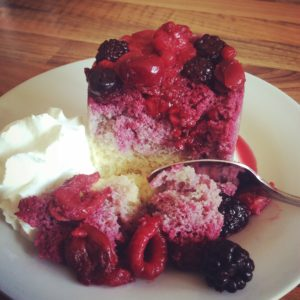 sugar free low carb summer pudding
