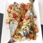 mackerel BBQ