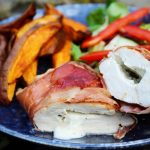 Wrapped Stuffed Chicken Parcels