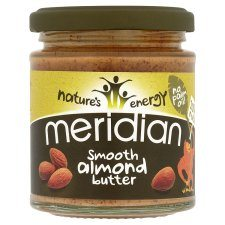 This almond butter has 6.5g carbs per 100g