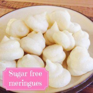 sugar free meringues