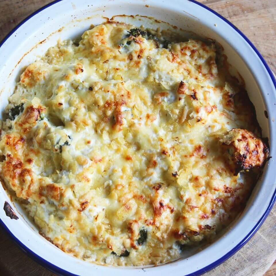 Veggie Cheese Bake