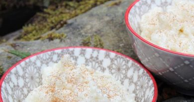 basmati rice pudding