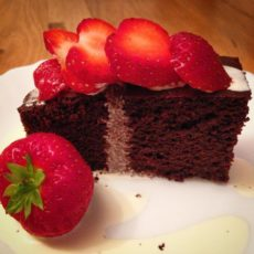 a basic chocolate cake low carb nut free chocolate cake