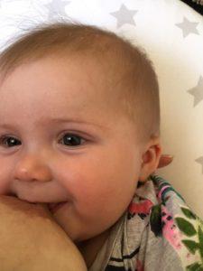 older baby breastfeeding