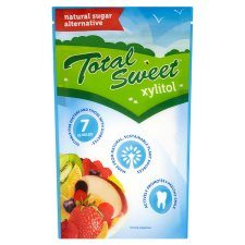 Total Sweet xylitol natural sweetener packaging