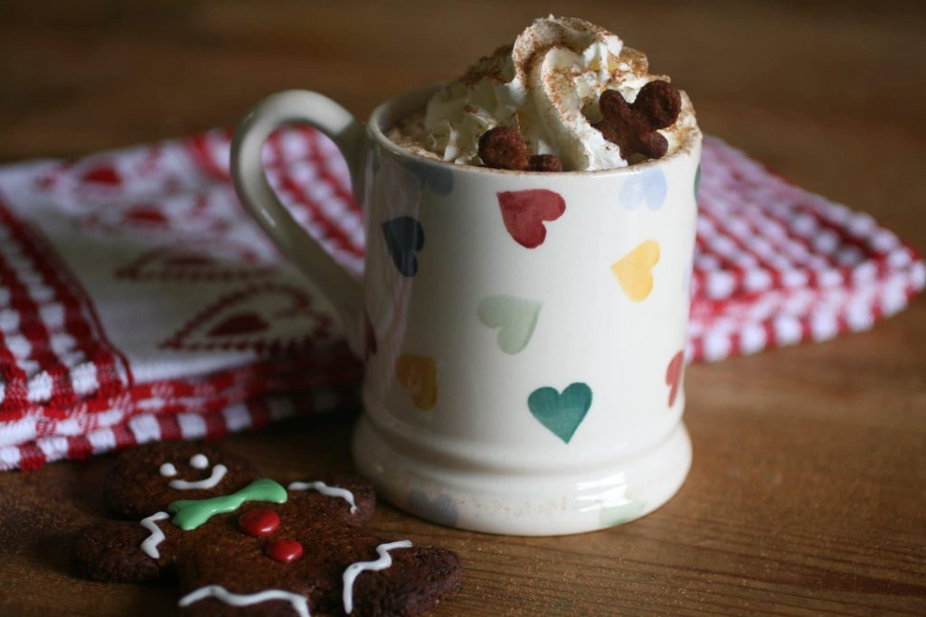 Low Carb Gingerbread Latte