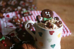 Sugar Free Gingerbread Latte and gingerbread men