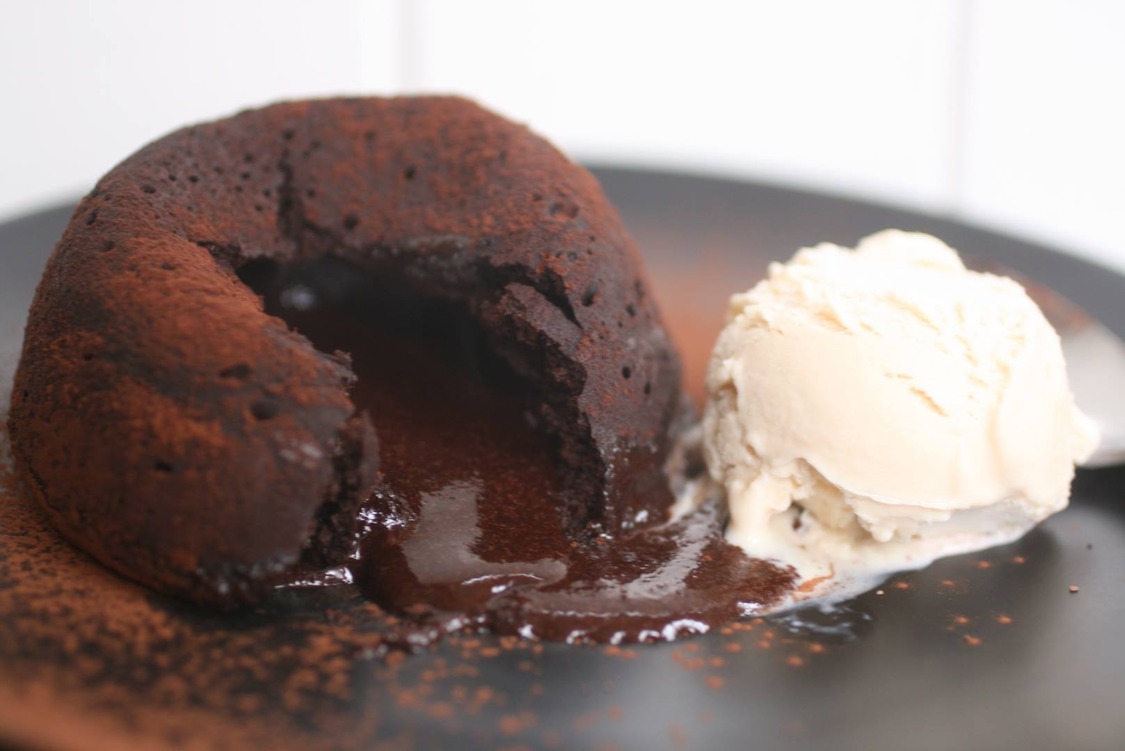 low carb chocolate lava cake