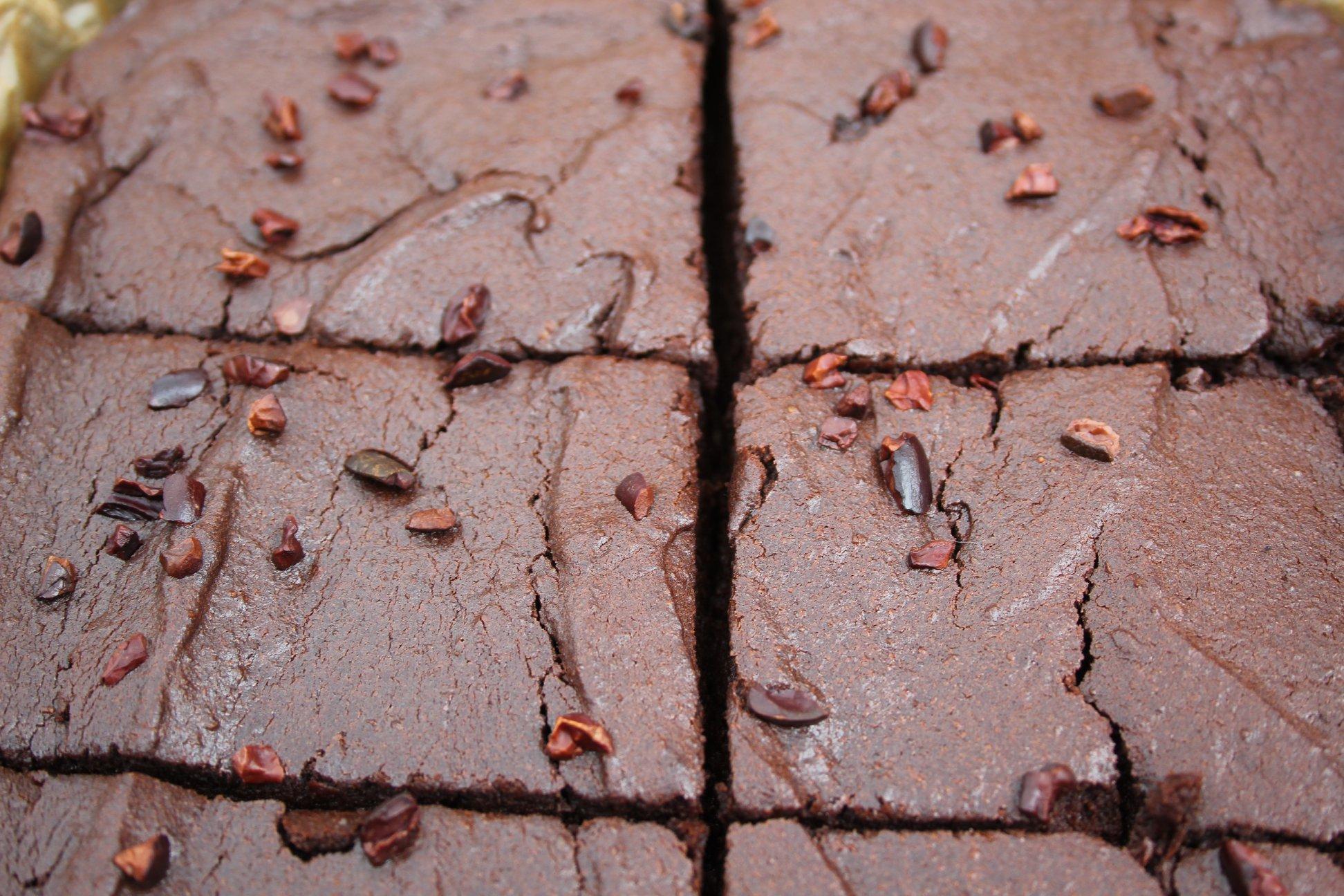low carb brownies nut free
