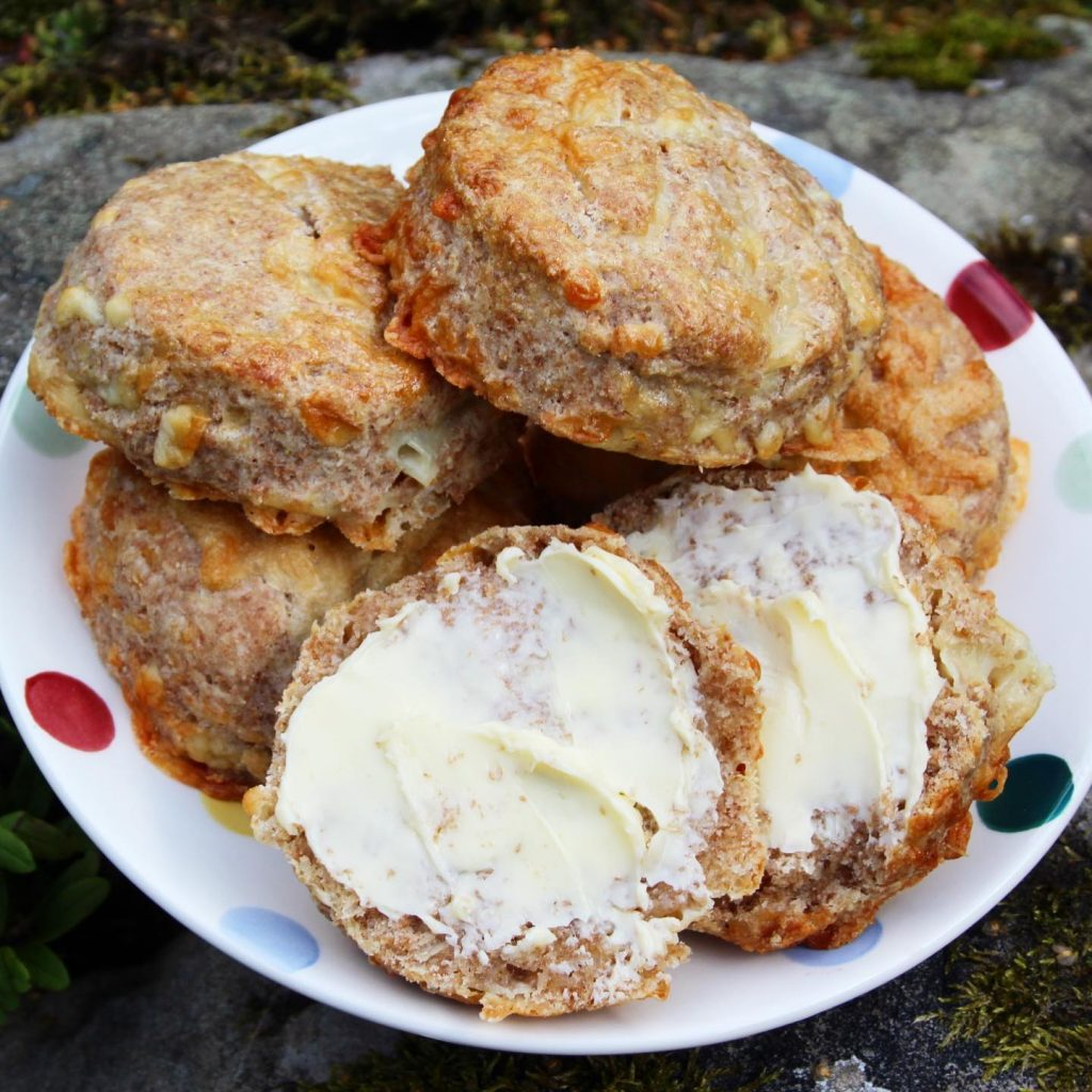 wholemeal cheese scones