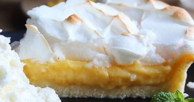 Jos Lemon Meringue Pie