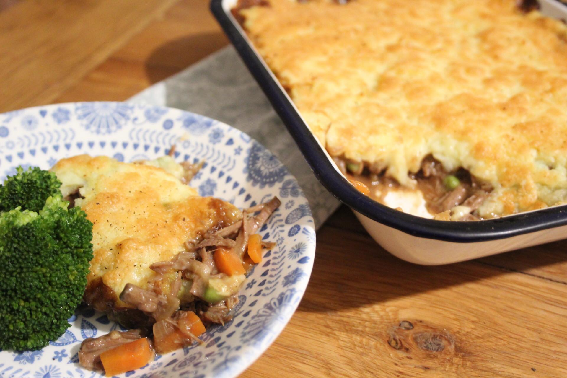 Sunday Roast Leftovers pie