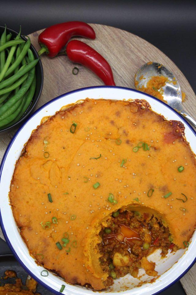 Vegan Keema Pie