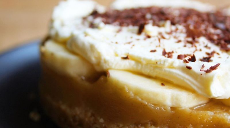 Sugar Free Banoffee Pie