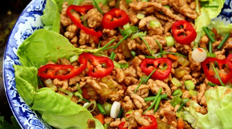 Yuk Sung Chinese Lettuce Cups