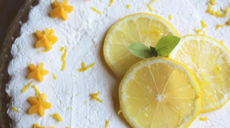 low carb no bake lemon cheesecake