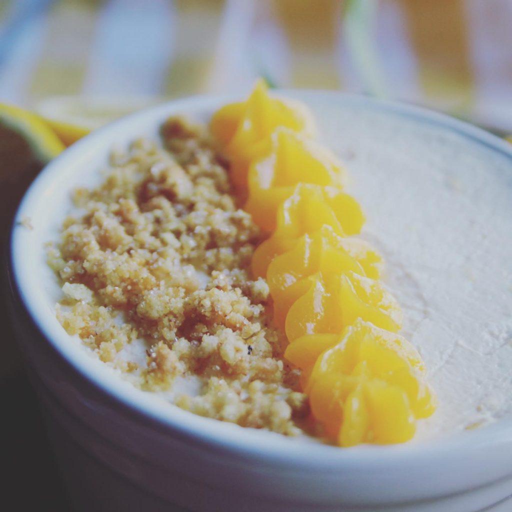low carb lemon mousse