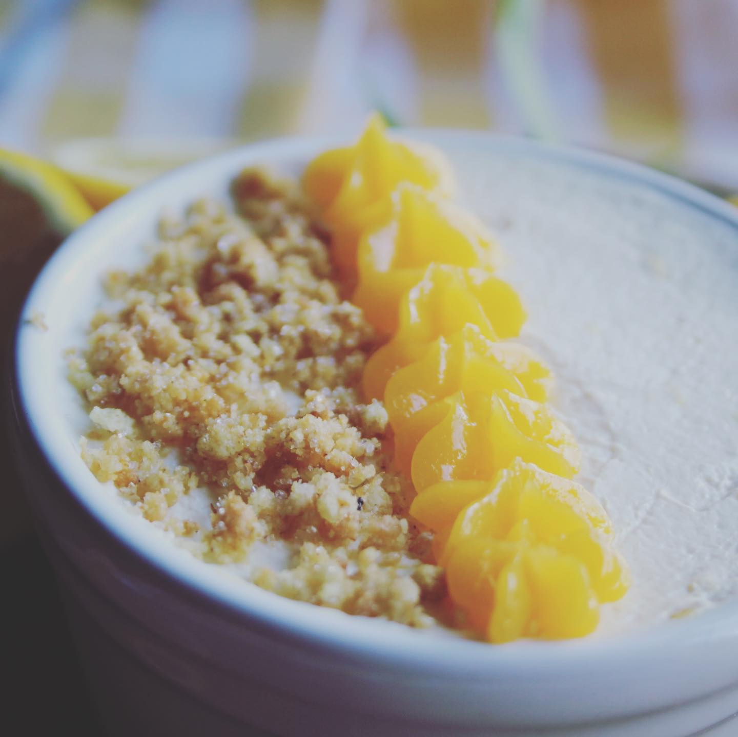 low carb lemon mousse