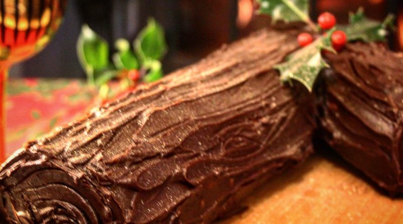 Low carb yule log