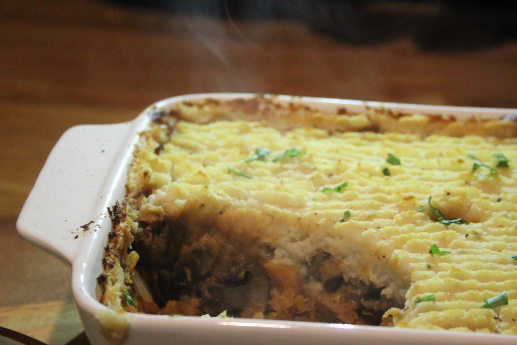 low carb vegan shepherd's pie