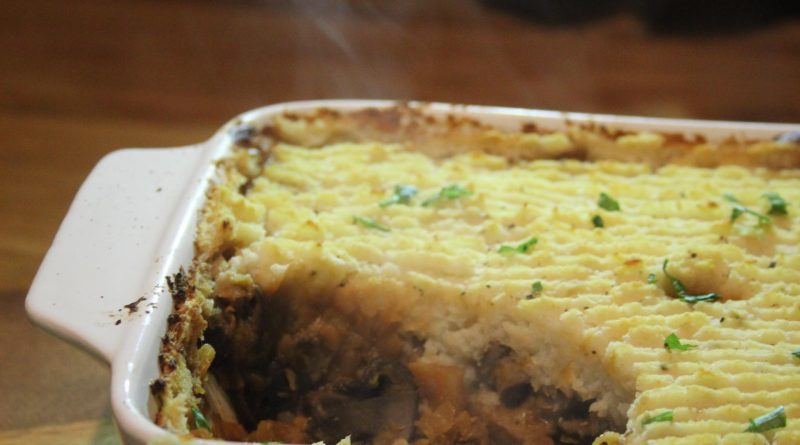 low carb vegan shepherd's pie