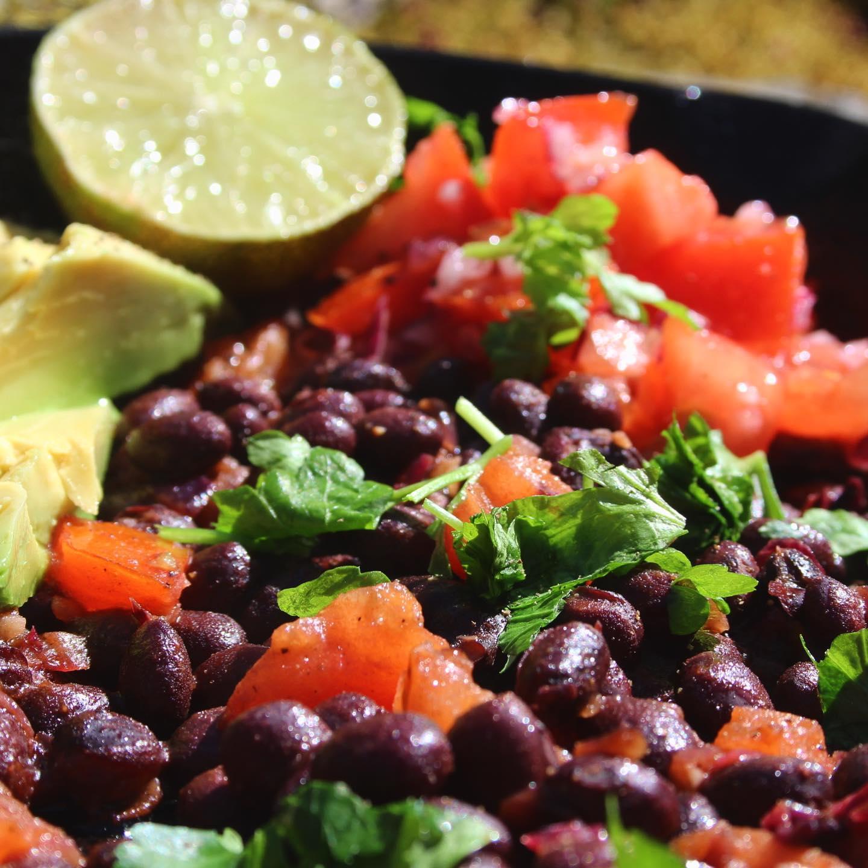 Mexican bean breakfast