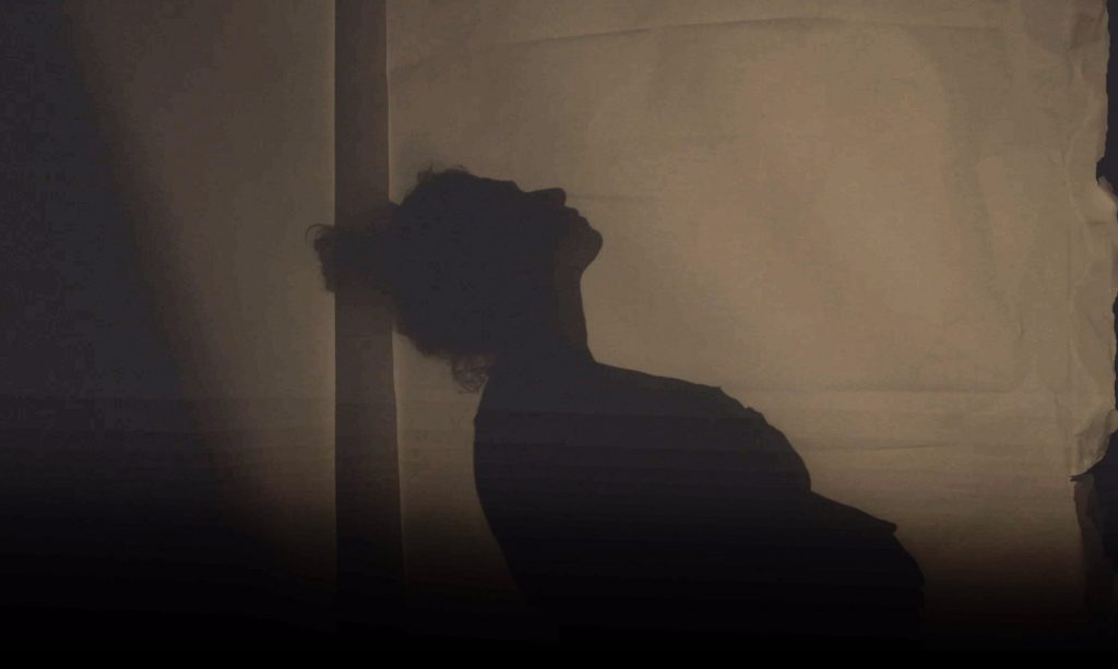 GD One Prick At A Time - GD Mums Shadow Image of Woman