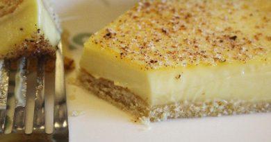 sugar free low carb egg custard tart