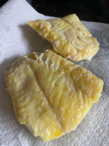 poached smoked haddock