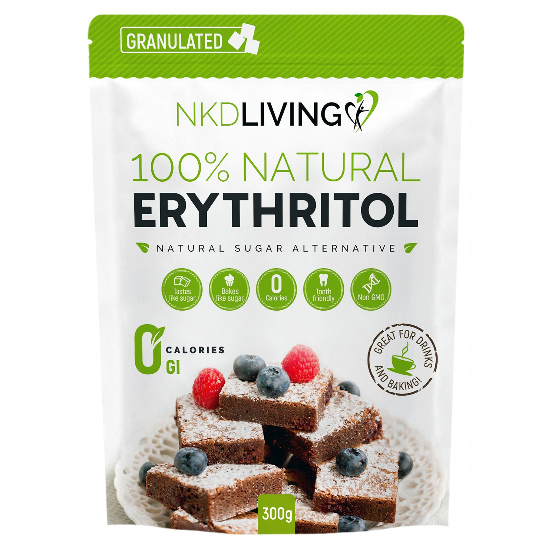 NKD Living granulated erythritol