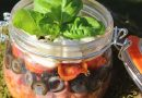 Peperami Pizza Pasta Salad Jar