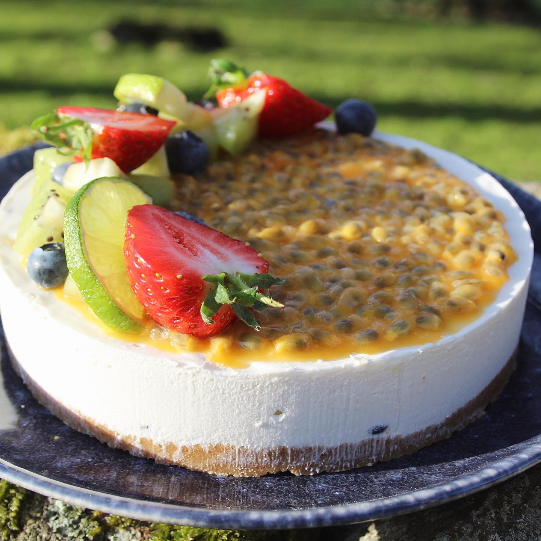 Vegan Tropical Cheesecake