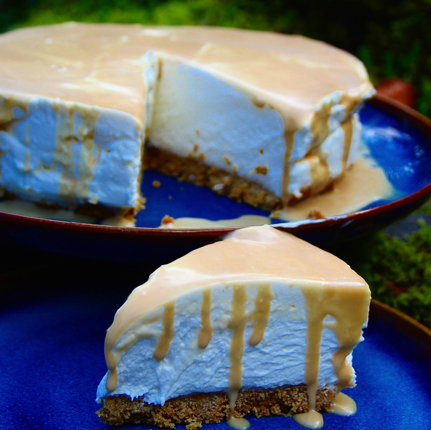 Low Carb Salted Caramel Cheesecake